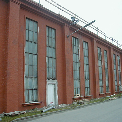 AMAG Halle Ranshofen vor der Sanierung
