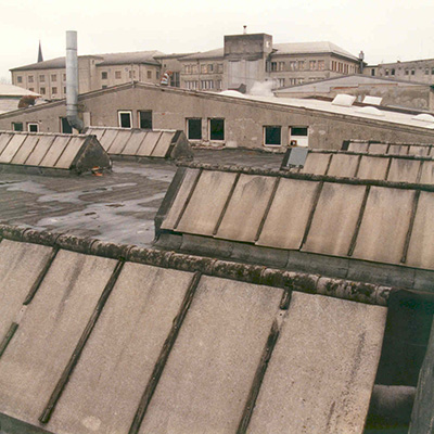 Vogl Lederfabrik Mattighofen vor der Sanierung