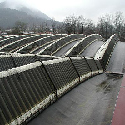 Zimmer Maschinenfabrik Kufstein vor der Sanierung